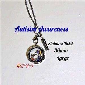 Jewelry - Autism Awareness Stainless Locket